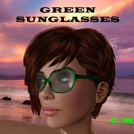 Sun Glasses DARK GREEN