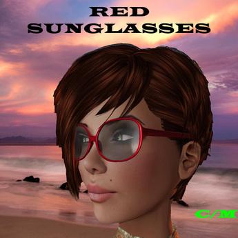 Sun GlassesDARK RED