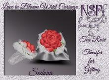 NSP Love In Bloom Wrist Corsage (Deep Secret) V2 boxed