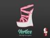 [ Vertice ] Pink - (SLINK) Wedge Sandals