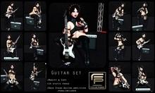 [F o c u s P o s e s] Guitar set