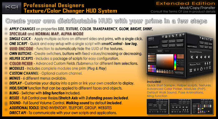 MultiPurpose Texture Changer & Color Picker