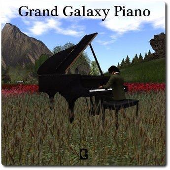 Blackburns Grand Galaxy Piano Music & Animation