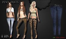 B BOS -Peny Pants-Jeans Marine-