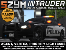 SZYM Intruder Police Car/ Civilian Sedan