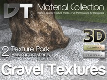2 Gravel Textures - Full Perm - DT Material Collection