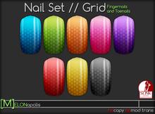 [M] Slink Nail Polish // Grid