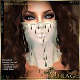 =Mirage= Nashida Niquab - Green
