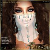 =Mirage= Nashida Niquab - Cyan