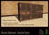 Moorish Sideboard - bleached lattice