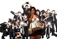 Backdrop Paparazzi's / Fotografia / Celebridade