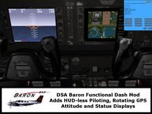 DSA Baron Digital Display Instrument Upgrade Package