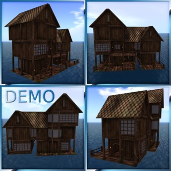 Water House Two. Mesh. DEMO