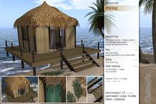 Sway's [Pantai] Beach Hut