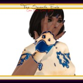 The Seventh Exile: Cake Cake Cake! Gloves - Blueberry