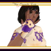 The Seventh Exile: Cake Cake Cake! Gloves - Grape