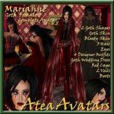 Marianne, Goth (Grufti) weiblicher Avatar