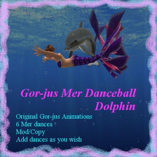 Gor-jus Mer Dance Ball - Dolphin**