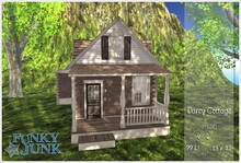 *Funky*Junk* Darcy Cottage -  Plain {Boxed}
