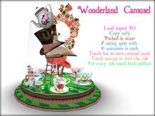 Boudoir -Wonderland Teacup Carousel