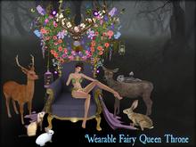 Boudoir -Wearable Fairy Queen Throne