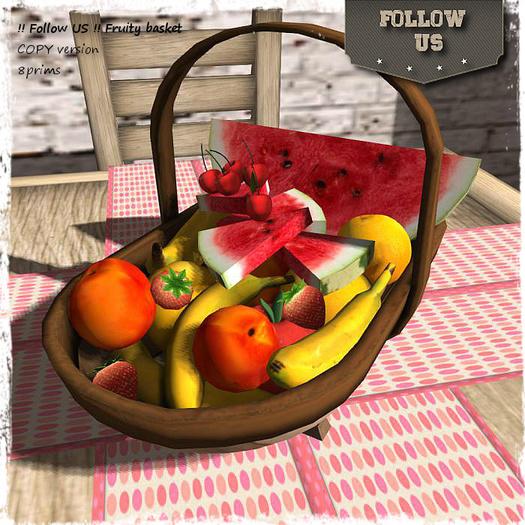 Special offer Marketplace !! Follow US !! Fruity basket COPY version