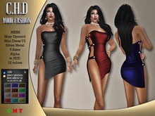 [C.H.D] Shay Opened Mini Dress V2
