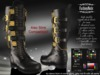 MESH Julius Male Boots FashionNatic - Hud Driven