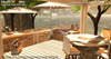 """<HEART HOMES> """"Lakeside"""" Family BBQ Set - Outdoors Barbecue complete set with grill, table, chairs, drinks cooler & more"""