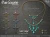 Necklace - Ashira Teardrop