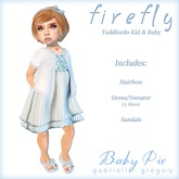 *Baby Pie* Firefly - Marketplace Promo Special!  Toddleedoo Complete Outfit