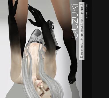 titzuki : Demon hands&feet paint