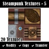 Steampunk Textures - Set 5