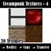 Steampunk Textures - Set 4
