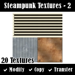 Steampunk Textures - Set 2