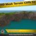 Hd mesh terrain cliffs s1 saleblock