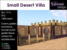 Small Desert Villa Sales Box