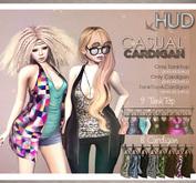 NS::  Mesh Casual Cardigan <HUD>
