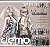 DEMO NS::  Mesh Casual Cardigan