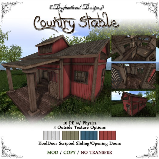 [DDD] Country Stable