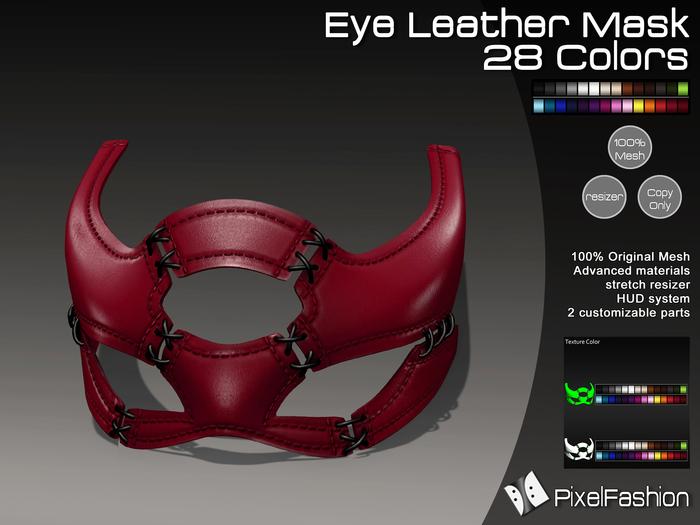 50% OFF :)(: Eye Leather Mask - All Colors v1.0  / Unisex Mask