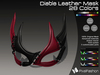 :)(: Diable Leather Mask - All Colors v1.0   / Unisex Mask