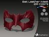 :)(: Bat Leather Mask - All Colors v1.0   / Unisex Mask
