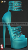 Bens Boutique - Mindy Spikes High Heel (slinkhighfeet) BabyBlue