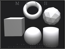 T-3D Creations [ Mesh Shapes ] MESH - Full Perm -