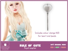 .:Buttery Toast:. The Rule of cute - Silver - 100% Original mesh