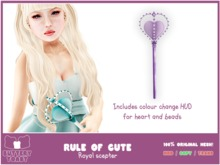 .:Buttery Toast:. The Rule of cute - Purple - 100% original mesh