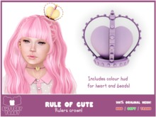 .: Buttery Toast:. The Rule of cute - Crown - Purple (Add Me!)