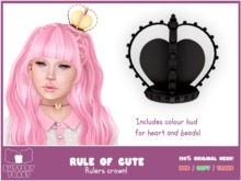 .: Buttery Toast:. The Rule of cute - Crown - Black (Add Me!)