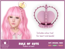 .: Buttery Toast:. The Rule of cute - Crown - Pink(Add Me!)